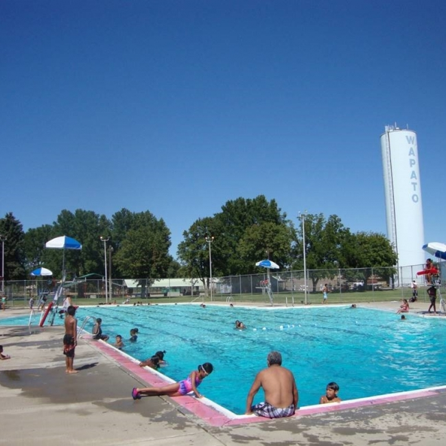 Scale and Bio Treatment in Outdoor Pool