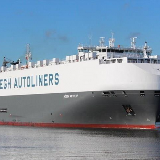 MV Hoegh Antwerp Report - Scale Prevention