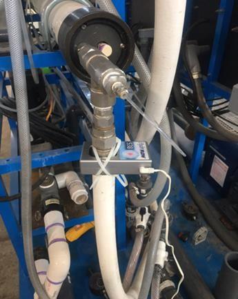 HydroFLOW S38 unit on RO