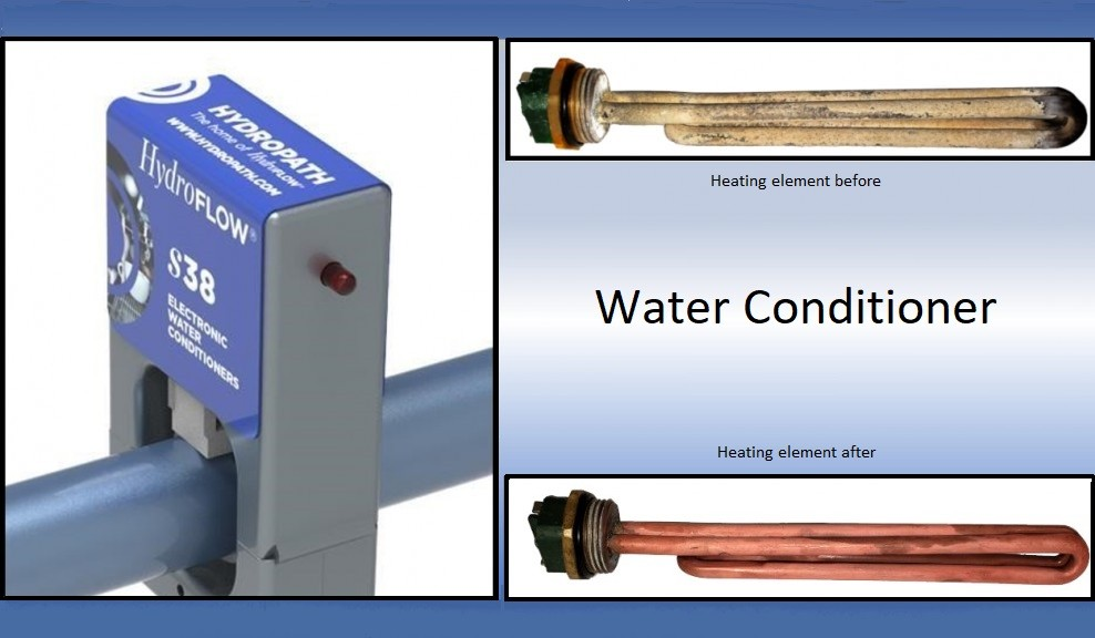 Water conditioners versus water softeners performance